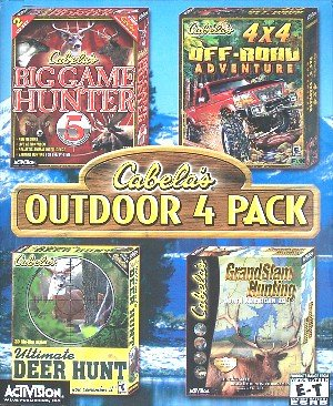 Cabela's Outdoor 4 Pack (Deer Hunting Games For Pc compare prices)