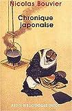 echange, troc Nicolas Bouvier - Chronique japonaise