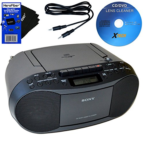 sony-cd-radio-cassette-recorder-bundled-with-ac-power-auxiliary-cable-for-ipods-iphones-smartphones-