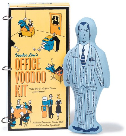Voodoo Lou's Office Voodoo Kit: Take Charge Voodoo Doll And Executive Spellbook!