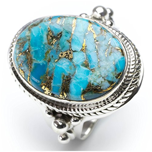 stargemstm-natural-copper-turquoise-925-sterling-silver-ring-us-size-8
