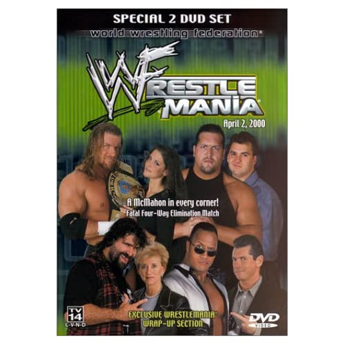 WrestleMania 2000 DVD Cover