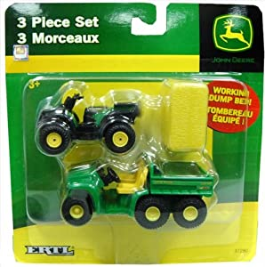 John Deere 3 Piece Farm Set, Hay Bale, Gator and ATV (1 Set) at Sears.com