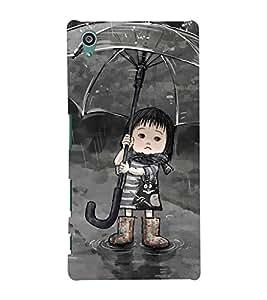 FUSON 3D Designer Back Case Cover foR Sony Xperia Z5 D9958