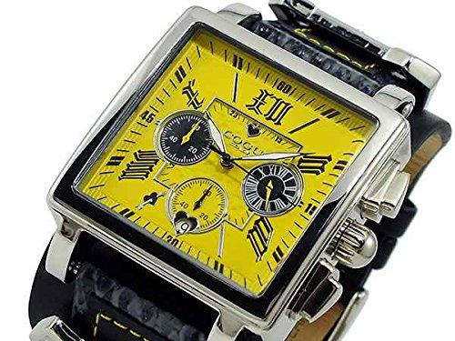 [コグ] COGU 腕時計 クロノグラフ SCR4-YW イエロー ユニセックス[並行輸入品]
