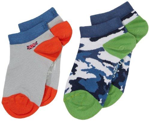 Pepe Jeans Jungen Socken BOYS SOCK PACK 4, 2er Pack, Gr. 176 (Herstellergröße: XL), Mehrfarbig (MULTI 0AA)
