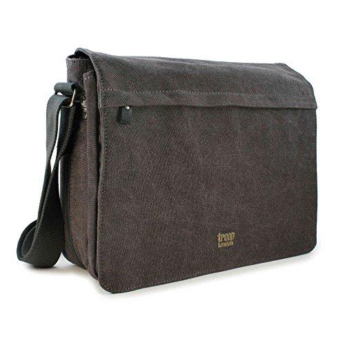 troop-london-unisex-canvas-laptop-messenger-bag-trp0240-black