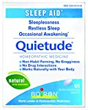 Boiron Quietude, 60 Tablets Homeopathic Medicine for Sleep Aid