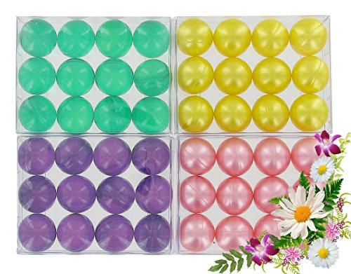 lot-de-4-boites-de-12-perles-dhuile-de-bain-fleurs