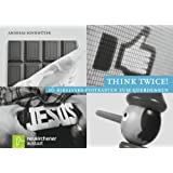 """Think twice!: 16 Bibelvers-Postkarten zum Querdenkenvon """"Andreas Sonnh�ter"""""""