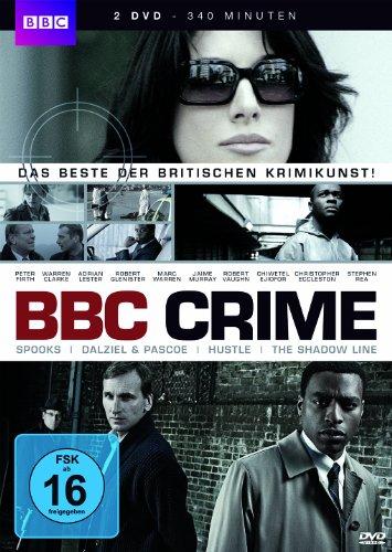 BBC Crime: Spooks, Dalziel & Pascoe, The Shadow Line, Hustle [2 DVDs]