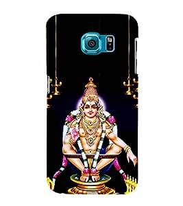 Sabarimala Ayyappa 3D Hard Polycarbonate Designer Back Case Cover for Samsung Galaxy S6 Edge+ G928 :: Samsung Galaxy S6 Edge Plus G928F