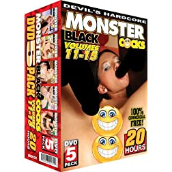 MONSTER BLACK COCKS 11-15
