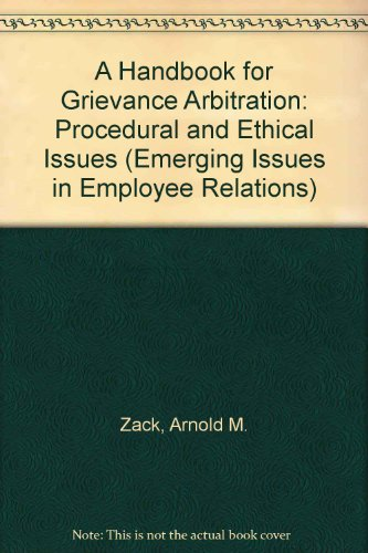employee relations issues Definition of employee relations: unions, and issues of collective history of collective bargaining ever since the birth of the employer-employee.
