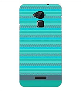 PrintDhaba Tribal pattern D-1857 Back Case Cover for COOLPAD NOTE 3 LITE (Multi-Coloured)