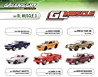Greenlight Muscle Series 3, 6pc Diecast Car Set 1/64 by Greenlight 13030