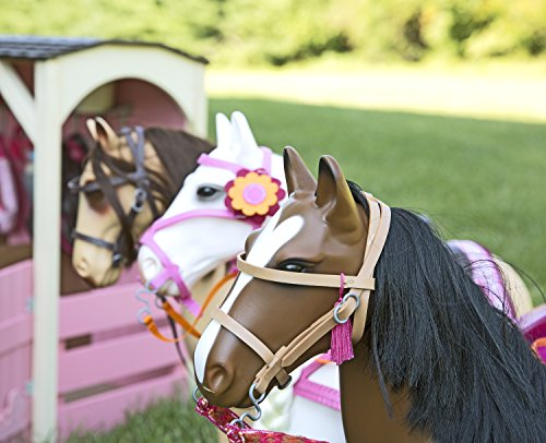 Our Generation Poseable Morgan Horse For 18 Quot Dolls Toys