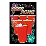 Beer Pong 23X35 Blacklight Poster College Drunk 101894