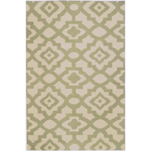 Candice Olson Cream 2 ft. x 3 ft. Flatweave Accent Rug