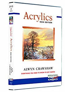 Learn to paint acrylics dvd with alwyn for Learn to paint with acrylics