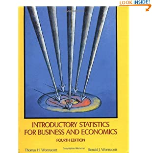 Introductory Statistics for Business and Economics (Wiley Series in Probability and Statistics) (Hardcover)