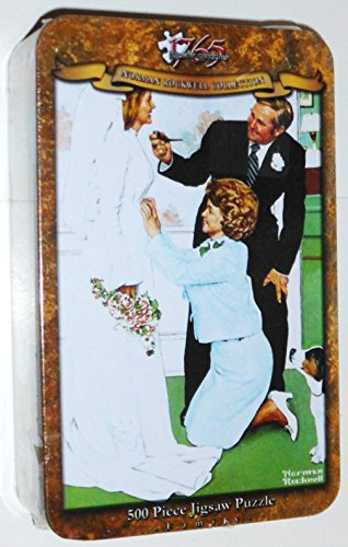 Norman Rockwell: Bride To Be - 500Pc Jigsaw Puzzle In A Tin By Serendipity