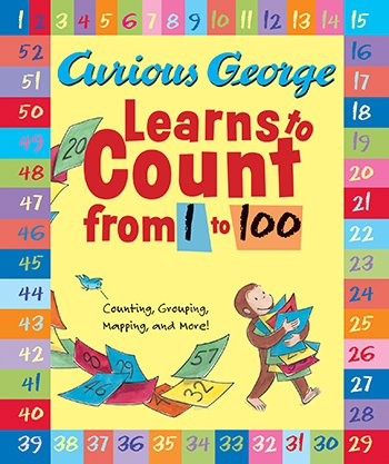 * Curious George Learns To Count From front-4714
