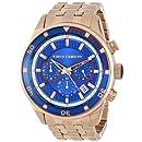 "Vince Camuto Men's VC/1044BLRG ""The Admiral"" Rose Gold-Tone Bracelet Watch"