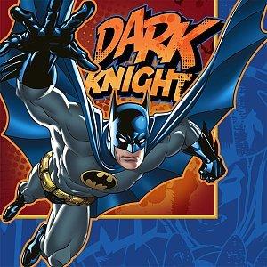 Batman 'Heroes and Villains' Large Napkins (16ct) - 1