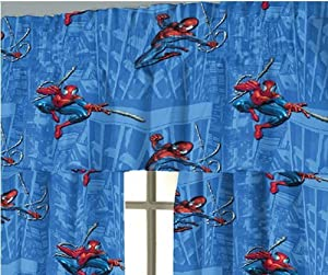 Amazing Spider-man The Movie Window Treatment Valance - 84 X 14 Inch from Jay Franco