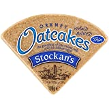 Stockan's Orkney Thin Triangular Oatcake 100 g (Pack of 36)