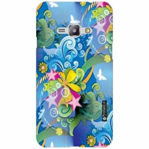 Printland Back Cover For Samsung Galaxy J1 Ace - Silicon peace Designer Cases