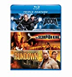 Dwayne Johnson Triple Feature (The Scorpion King / The Rundown / Doom) [Blu-ray]