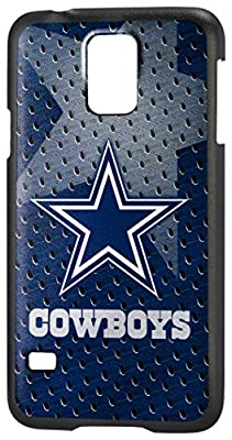 Team Pro Mark Licensed NFL Dallas Cowboys Slim Series Protector Case for Samsung Galaxy S5 - Retail Packaging - Blue/White
