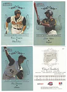2007 TRISTAR Elegance - ARIZONA DIAMONDBACKS Team Set w  Justin Upton by Elegance