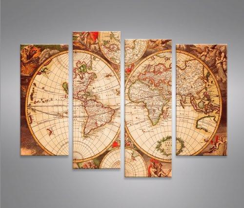 Word map 4er quadri moderni intelaiati pronti da appendere fotografia formato xxl stampa - Quadri da appendere in cucina ...