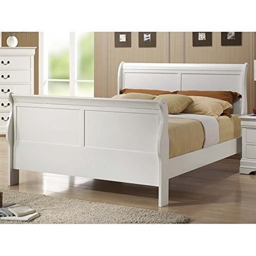 coaster-louis-philippe-queen-sleigh-bed-in-white