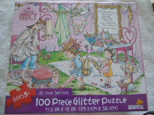 Fancy Nancy 100 Piece Glitter Puzzle - At Your Service