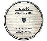 Amazon.co.jpGood-J DVD-R CPRM CPRM対応 データ&ビデオ対応(4.7GB/120min) 1-16倍速 ホワイトプリンタブル(ワイドプリント対応) 10枚 スピンドルケース GJC47-16X10PW