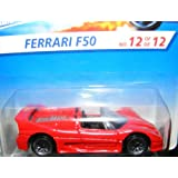 Ferrari F50 Hot Wheels 1996 Fist Edition Series #12 Of 12 Red Ferrari F50 1:64 Scale Collectible Die Cast Metal...