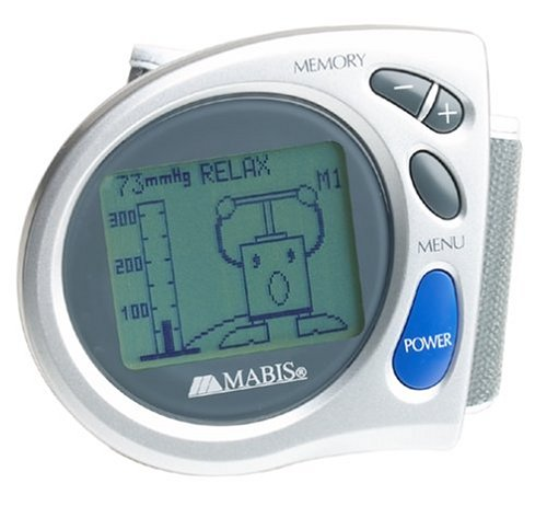 Cheap Mabis 04-255-001 Dot Matrix Digital Wrist Blood Pressure Monitor (04-225-001)