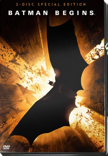 Batman Begins (Exklusiv bei Amazon als Steelbook inkl. 'Glow in the Dark', 2 DVDs)