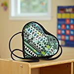 Katy Kids' Insulated Heart Shaped Shoulder Lunch Bag