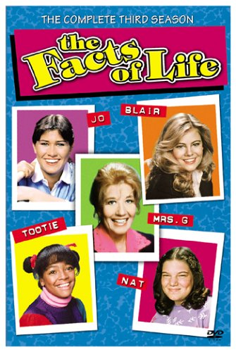 Cover art for  The Facts of Life - The Complete Third Season