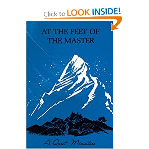 At the Feet of the Master: Alcyone: 9780835601962: Amazon.com: Books