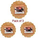 Yankee Candle Honey and Spice Wax Tart Pack of 3 1246097E