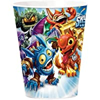 Skylanders (8) Paper Cups Hot/Cold 9 ounces Party Supply from Amscan