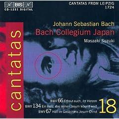 Erfreut euch, ihr Herzen, BWV 66: Chorale: Alleluja! Alleluja! Alleluja!