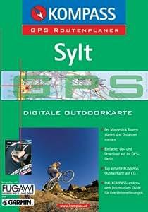 Sylt, 1 CD-ROM Digitale Outdoorkarte. Für Windows 95/98/2000/NT/XP. Per Mouseklick Touren planen und Distanzen messen. Inkl. KOMPASSLexikon, dem informativen Guide für Ihre Unternehmungen