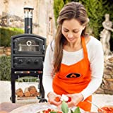 discount Fornetto Wood Fired Pizza Oven and Smoker - Black
